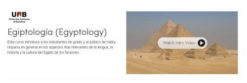 coursera egiptologia