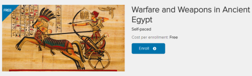 Warfare and Weapons in Ancient Egypt 2015