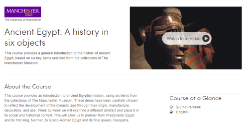 coursera AncientEgypt 2015